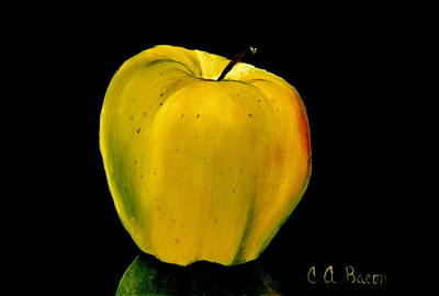 Painting - Golden And Delicious by Charlotte Bacon