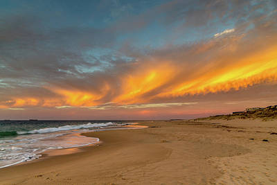 Photograph - Golden Clouds by Robert Caddy