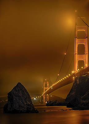 Photograph - Golden Entrance by PhotoWorks By Don Hoekwater