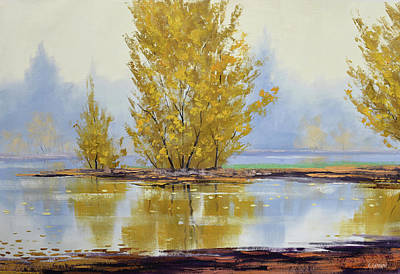 Paintings - Golden Fall by Graham Gercken