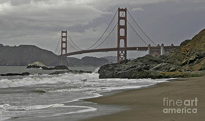 Photograph - Golden Gate Study #1 by Joyce Creswell