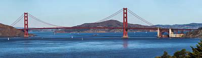 State Love Nancy Ingersoll - Golden Gate Bridge by Bill Dodsworth
