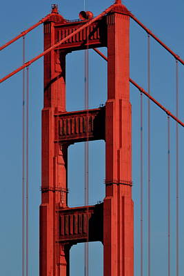Photograph - Golden Gate Bridge From Chrissie Field by Dean Ferreira