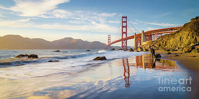 Photograph - Golden Gate Bridge by JR Photography