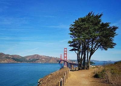 Photograph - Golden Gate Bridge by Mary Capriole