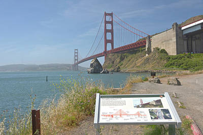 Golden Gate Bridge Northern California Original by Gino Rigucci