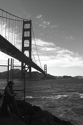 Rivets Photograph - Golden Gate Bridge by Aidan Moran
