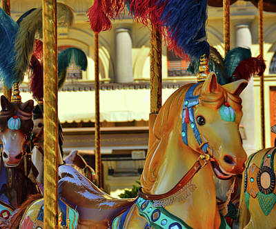 Photograph - Golden Pony Of Florence by JAMART Photography