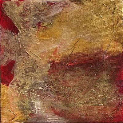 Golden Ruby Art Print