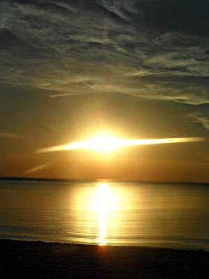 Photograph - Golden Skies by Cyryn Fyrcyd