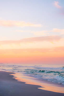 Photograph - Golden Sunrise In Seaside by Shelby Young