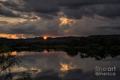 Photograph - Golden Sunset by Melany Sarafis