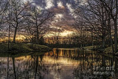 Photograph - Golden Sunset by Scott Wood