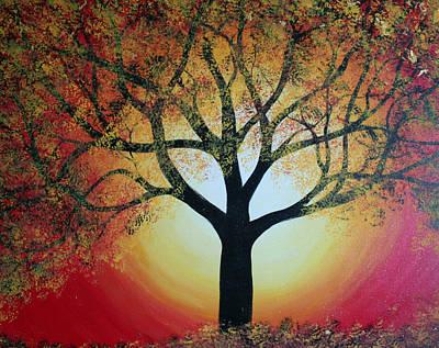 Painting - Golden Tree  by Alma Yamazaki