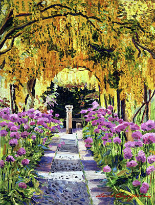 Painting - Golden Walk by David Lloyd Glover