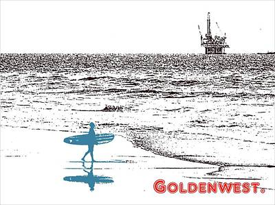 Photograph - Goldenwest by Everette McMahan jr