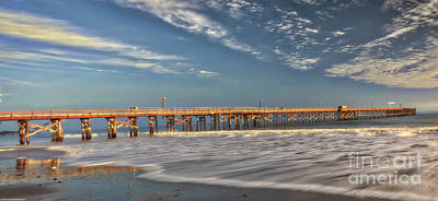 Photograph - Goleta Beach And Pier by Mitch Shindelbower