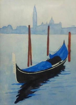 Painting - Gondola by Monique Montney