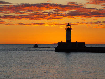 Duluth Photograph - Gone Fishing by Alison Gimpel