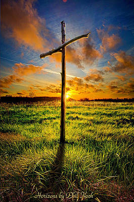 Crosses Photograph - Good Friday by Phil Koch