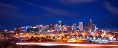 Denver Skyline Photograph - Goodnight Denver by Darren White