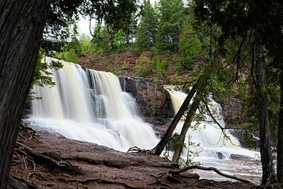 Photograph - Gooseberry Falls by Bonfire Photography