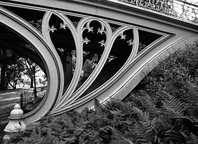 Photograph - Gothic Bridge by Cornelis Verwaal