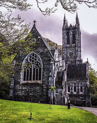 Photograph - Gothic Cathedral - Kylemore Abbey by Lexa Harpell