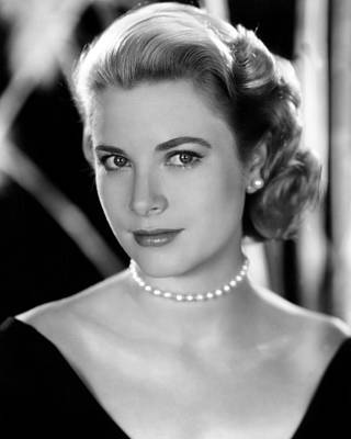 Colbw Photograph - Grace Kelly, 1953 by Everett