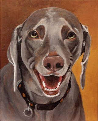 Painting - Gracie by Carol Russell