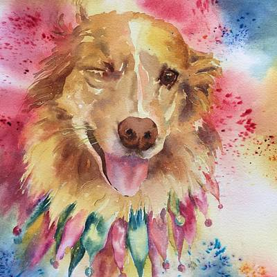 Painting - Gracie by Tara Moorman