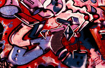 Photograph - Graffiti Art - 042 by Paul W Faust -  Impressions of Light