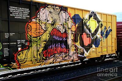 Spray Paint Can Photograph - Graffiti Genius 7 by Bob Christopher