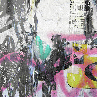 Digital Art - Graffiti Grunge by Roseanne Jones