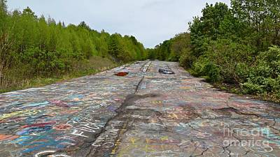 Photograph - Graffiti Highway, Facing North by Ben Schumin
