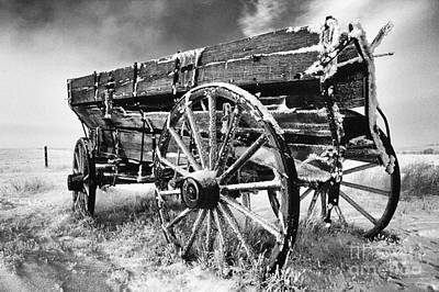 Photograph - Grain Wagon by Bob Christopher