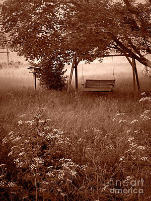 Photograph - Gramma's Swing by Jenness Asby