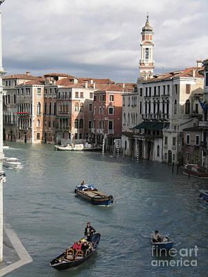 Grande Photograph - Gran Canal. Venice by Bernard Jaubert