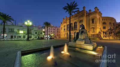 Photograph - Gran Teatro Falla Cadiz Spain by Pablo Avanzini