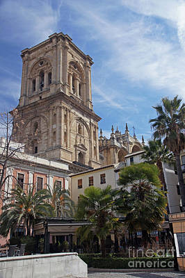 Photograph - Granada Cathedral by Rod Jones