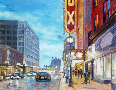 Painting - Grand Boulevard Saint Louis by Irek Szelag