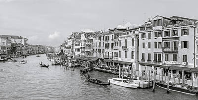 Traghetto Photograph - Grand Canal by Gary Finnigan