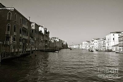 Veneta Photograph - Grand Canal by Kayme Clark