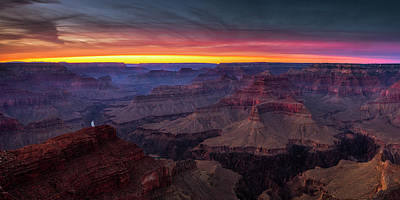 Photograph - Grand Canyon Evening by Andrew Soundarajan