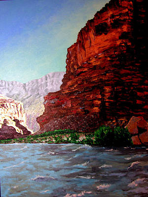 Grand Canyon II Art Print by Stan Hamilton