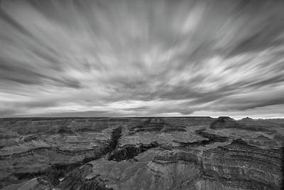 Photograph - Grand Canyon In Motion II by Jon Glaser