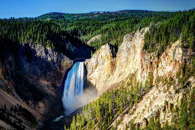 Photograph - Grand Canyon Of Yellowstone by Bill Dodsworth
