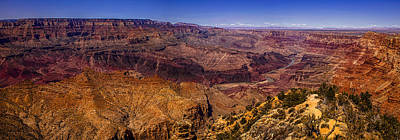 Grand Canyon Panorama Print by Andrew Soundarajan