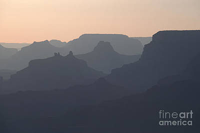 Photograph - Grand Canyon Pastel by Stan and Anne Foster