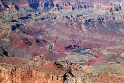 Photograph - Grand Canyon South Rim Colors by Mary Bedy